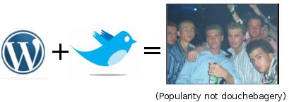 twitterpluswordpress