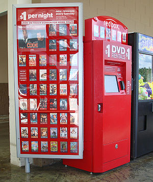 Red Box, Video Rental Automat, found in a Wal-…