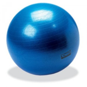 Simple office fitness replace your office chair with an - Replacing office chair with exercise ball ...